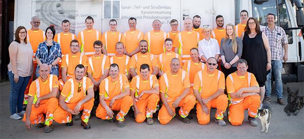 Alfes + Sohn GmbH | Aufnahme Team, Mitarbeiter