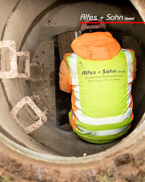 Alfes + Sohn GmbH Referenzen | Aufnahme Schacht TIP-Verfahren in Wenden-Hünsborn