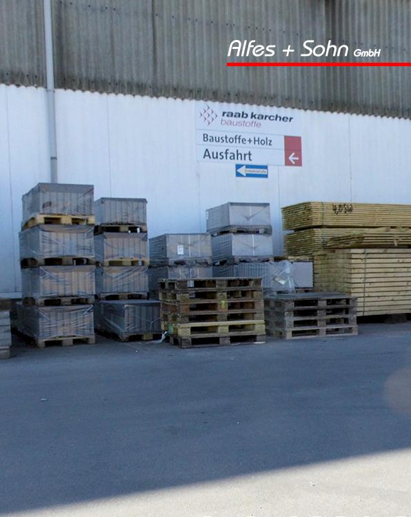 Alfes + Sohn GmbH Referenzen | Aufnahme Baustelle in Wiehl Raab Karcher