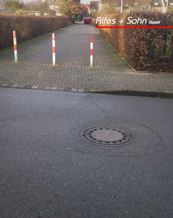 Alfes + Sohn GmbH Referenzen | Aufnahme Straße in Unna