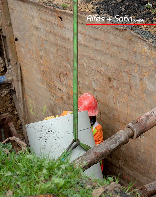 Alfes + Sohn GmbH Referenzen | Aufnahme Baugrube TIP-Verfahren in Wenden-Hünsborn