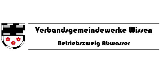 Alfes + Sohn GmbH Referenzen | Logo der Verbandsgemeindewerke Wissen, Betriebszweig Abwasser